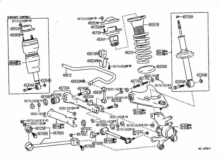 817893 Celsior Very High At Front on 2005 honda accord parts diagram