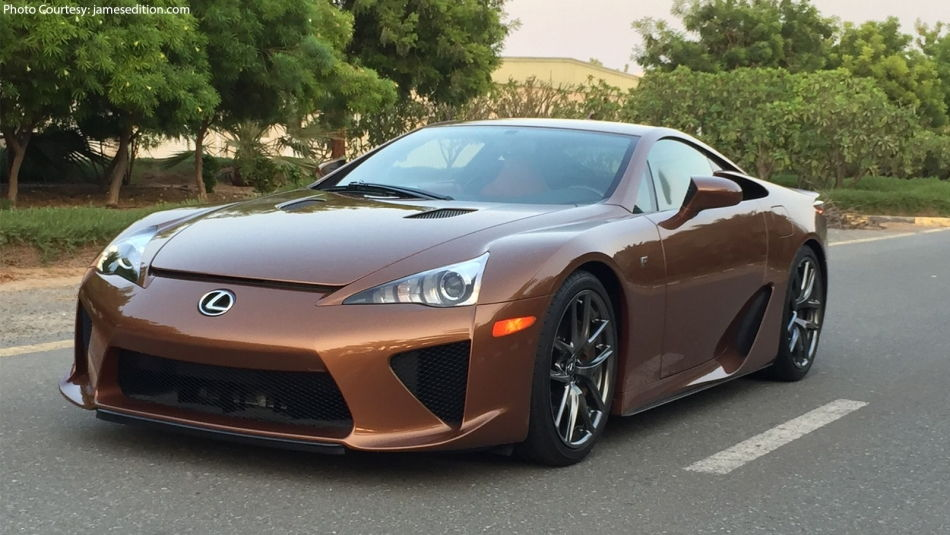 Almost 640k Will Get You The Only Pearl Brown Lfa In