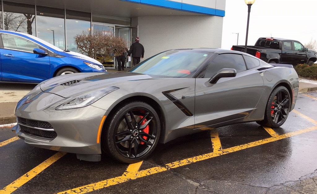 Jeff Schmitt Auto Group >> FS (For Sale) CERTIFIED PRE-OWNED! 2015 Corvette Z51, Shark Gray, Red Interior, 3LT, M7, PDR/Nav ...