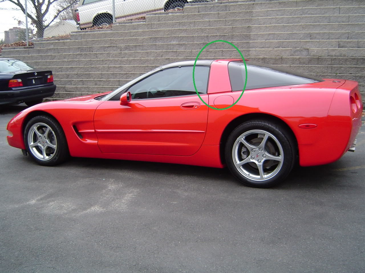 Red Corvette C6 >> 3M vinyl wrapped halo issues - CorvetteForum - Chevrolet Corvette Forum Discussion