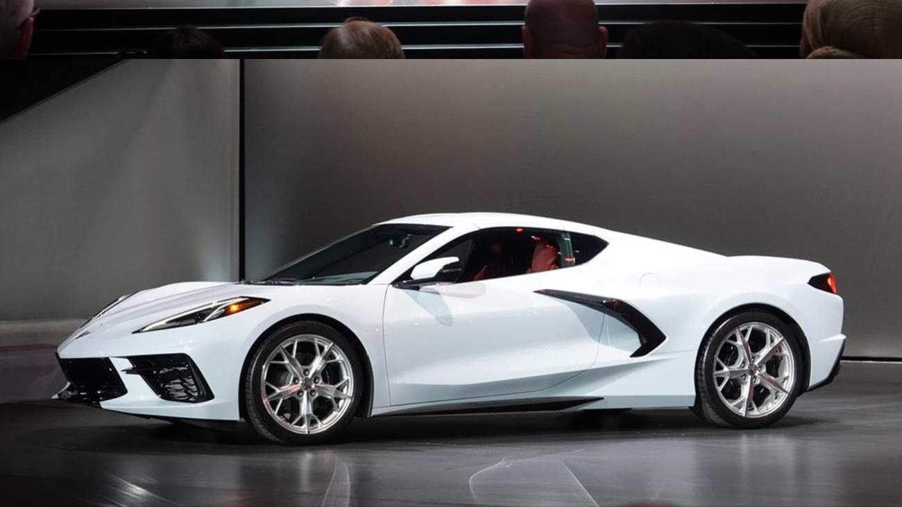 2020 C8 Corvette Revealed In California New Photos
