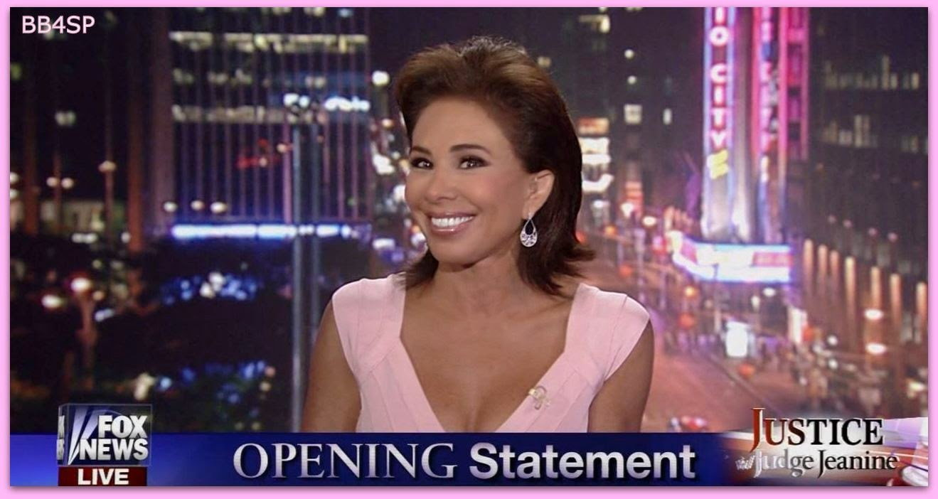 Opinion, lie. Judge jeanine pirro breasts