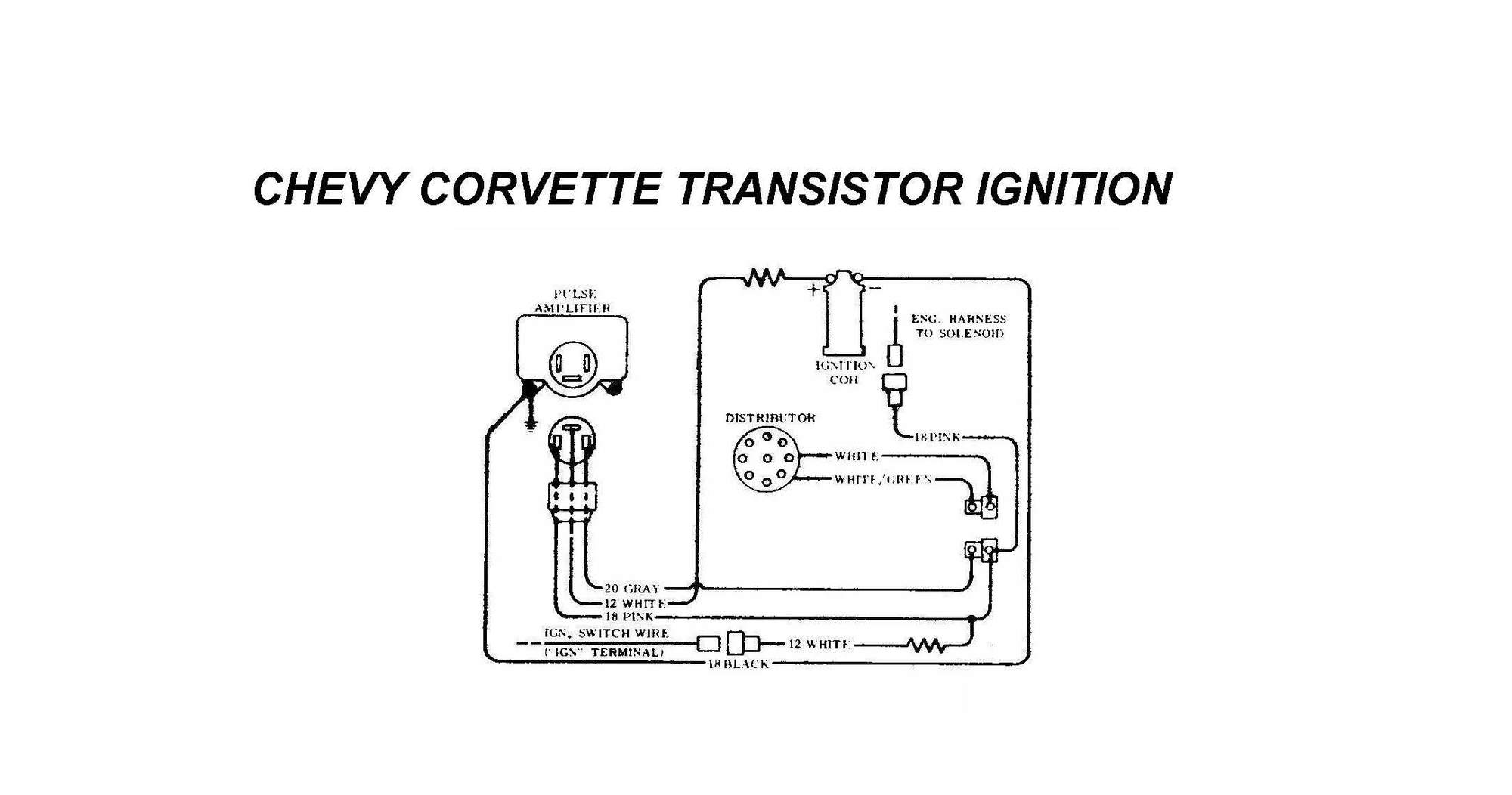 Ti Ignition Problems Page 2 Corvetteforum Chevrolet Corvette 12 Volt Solenoid Wiring Diagram For C3 If You Look Close At The Gm Can See Resistor Built Into Harness