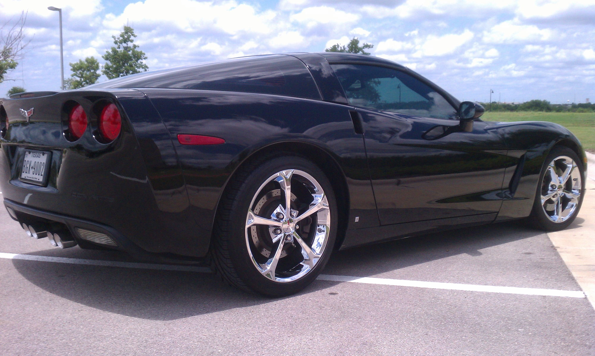 C6 Grand Sport Wheels On Base Coupe Corvetteforum