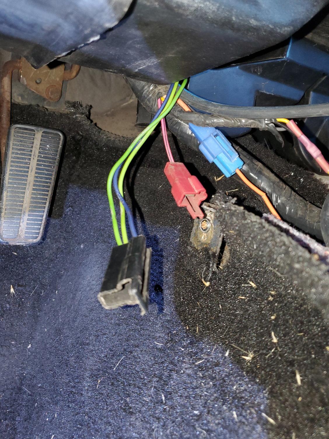79 Underdash Wire Help - Corvetteforum