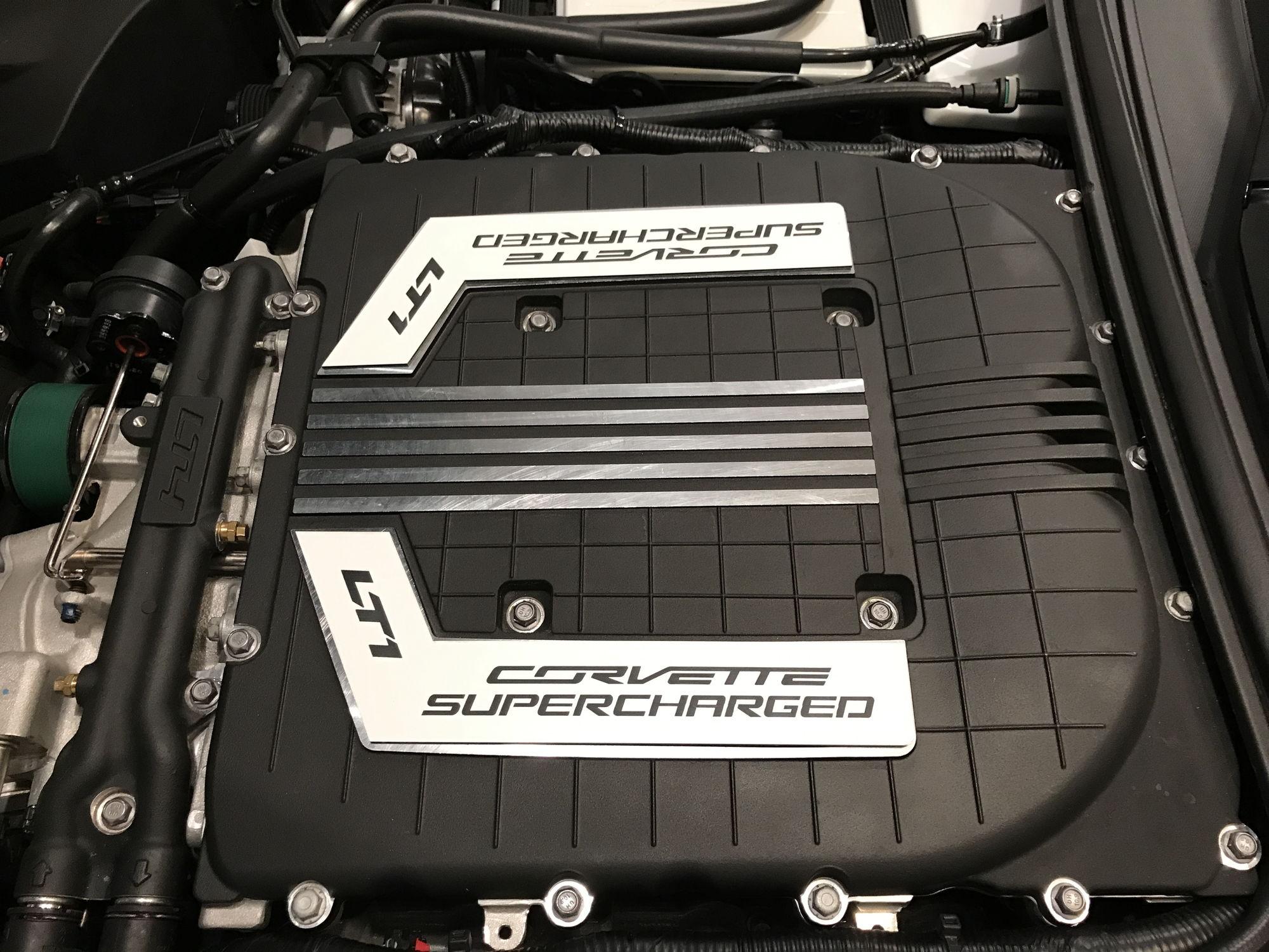 Z06 Supercharger installed on my 2015 Z51 Stingray!!