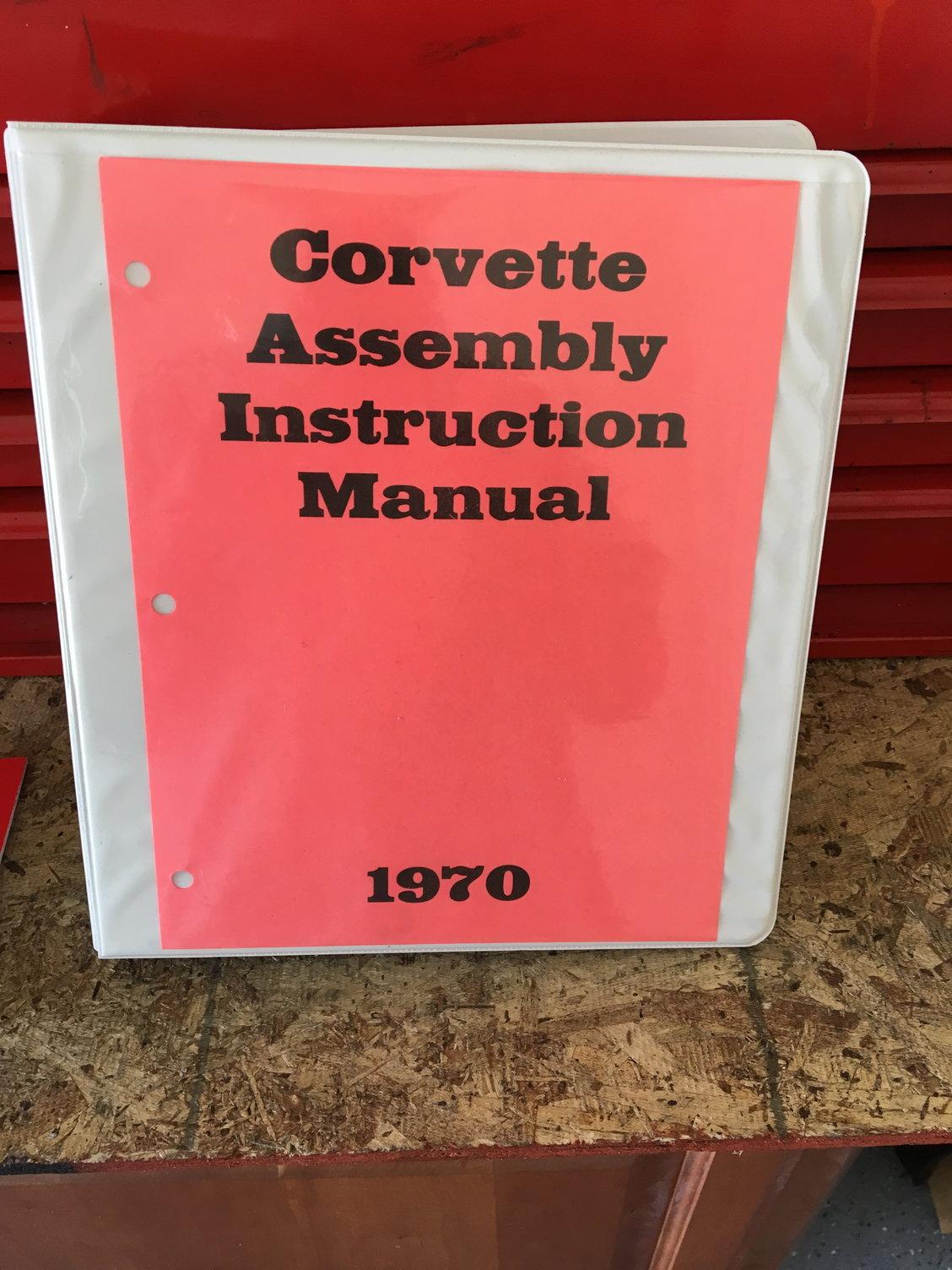 FS (For Sale) 1970 AIM, Owners Manual, Car Cover - CorvetteForum
