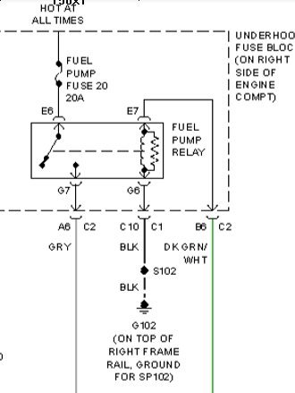 here is the relay schematic
