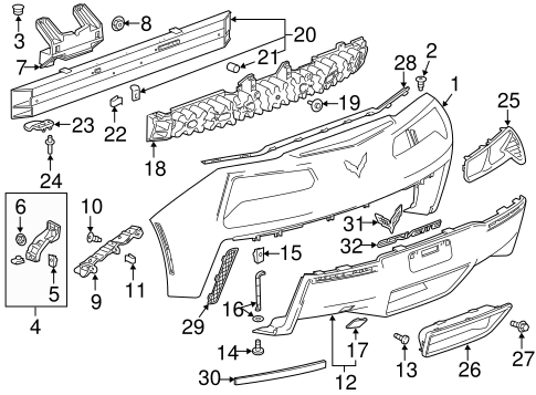 C7 Corvette Rear Suspension Diagram