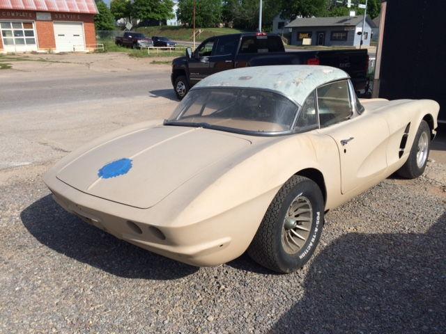 1961 Chevrolet Corvette Project Car For Sale