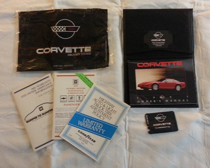 Question: 1991 ZR-1 Owner's Manual - CorvetteForum