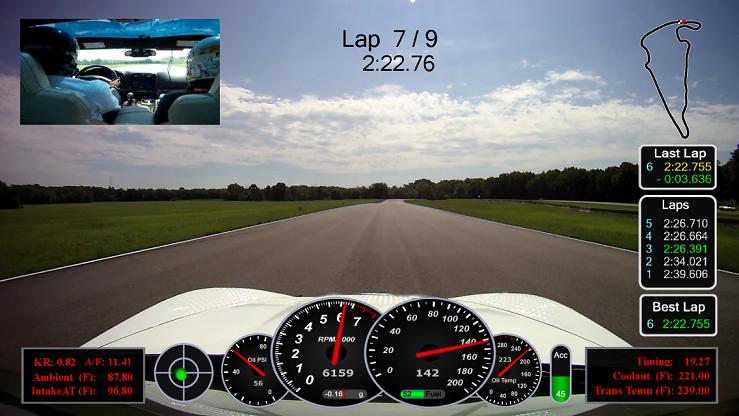 Telemetry over video? How? - CorvetteForum - Chevrolet Corvette
