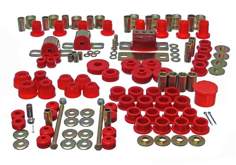ENERGY * SUSPENSION * POLYURETHANE * BUSHINGS *} Red and