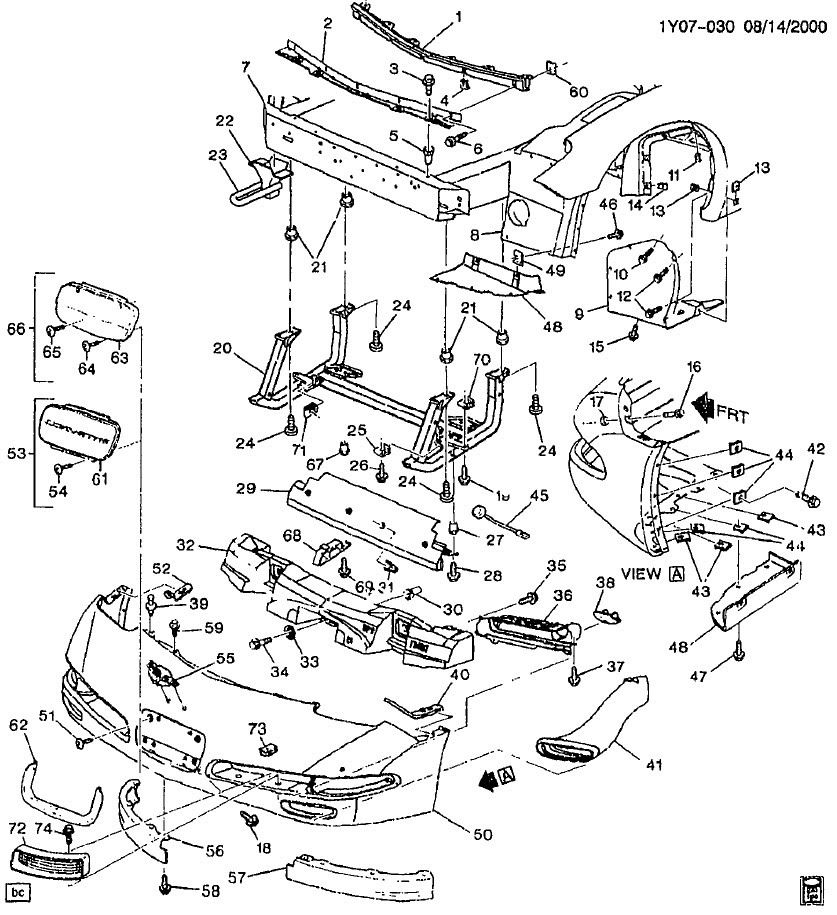 3947662 Z06 C6 Body Parts Needed on 57 chevy starter wiring diagram
