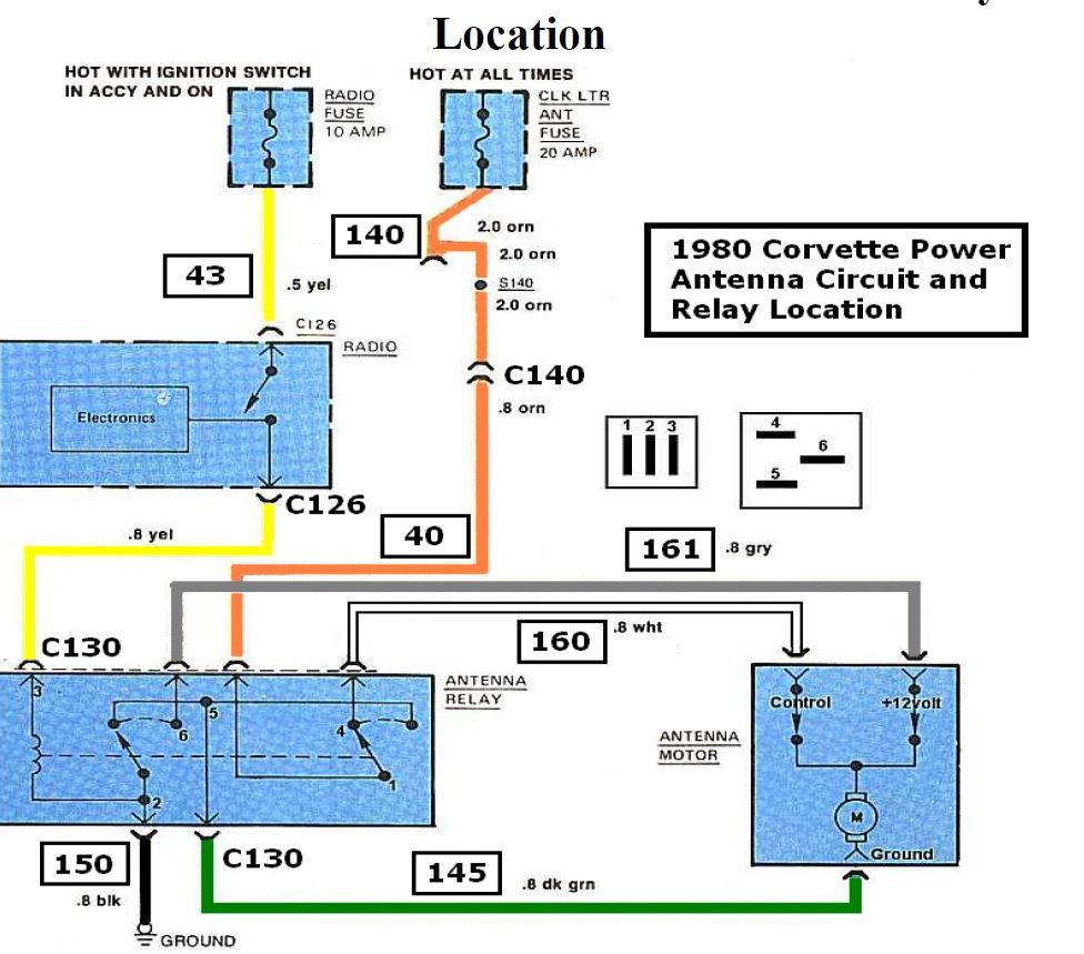 1980 Power Antenna Control - Corvetteforum