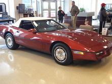 My 86 corvette convertible