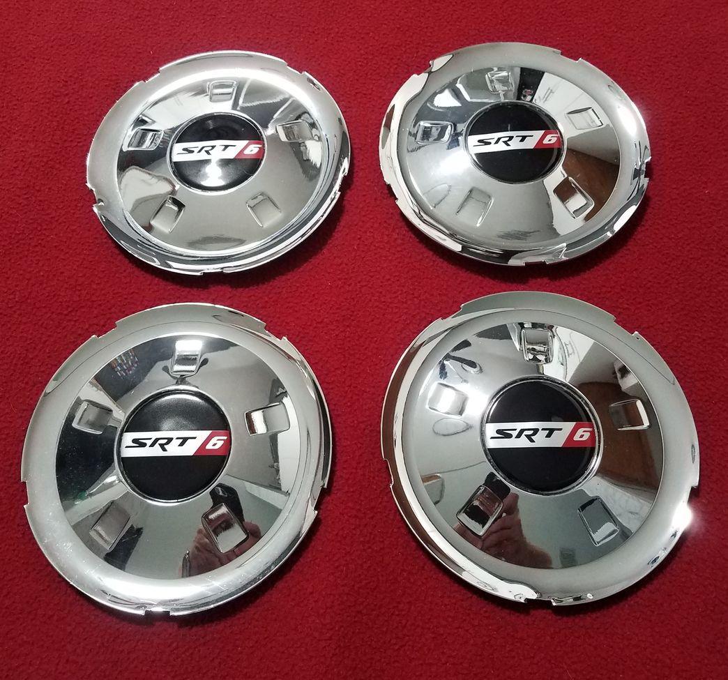 FS: Set Of Chrome SRT6 Wheels With Centercaps