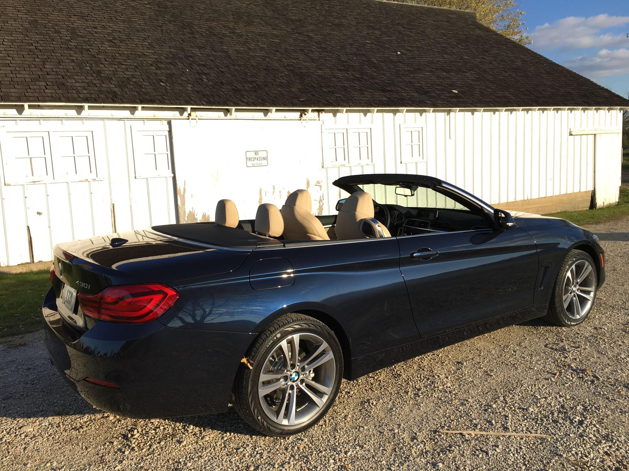 a new car in my garage 2018 bmw 430i hardtop convertible. Black Bedroom Furniture Sets. Home Design Ideas