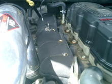 Exhaust Manifold Blanket courtesy of Turbo Performance Products and Diesel Bombers Giveaways