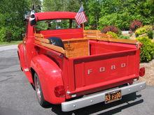 My Truck, 1953 F-100 hot rod