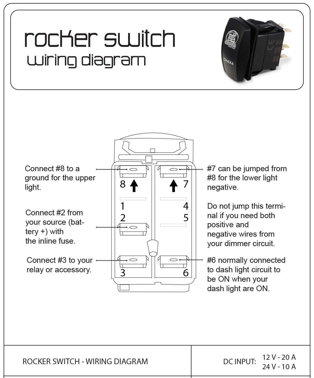 Wiring 5 Pin Rocker Switch   - Page 3 - Ford F150 Forum