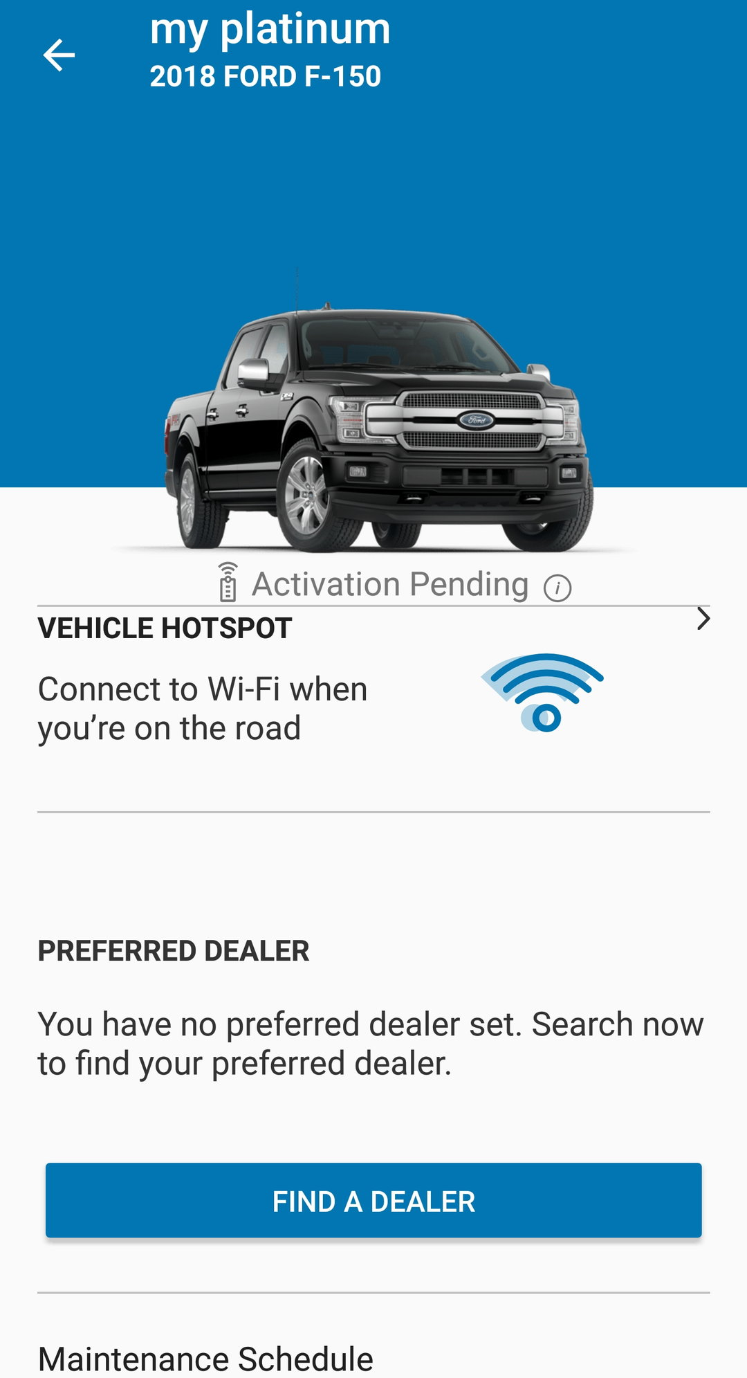 fordpass activation pending issue