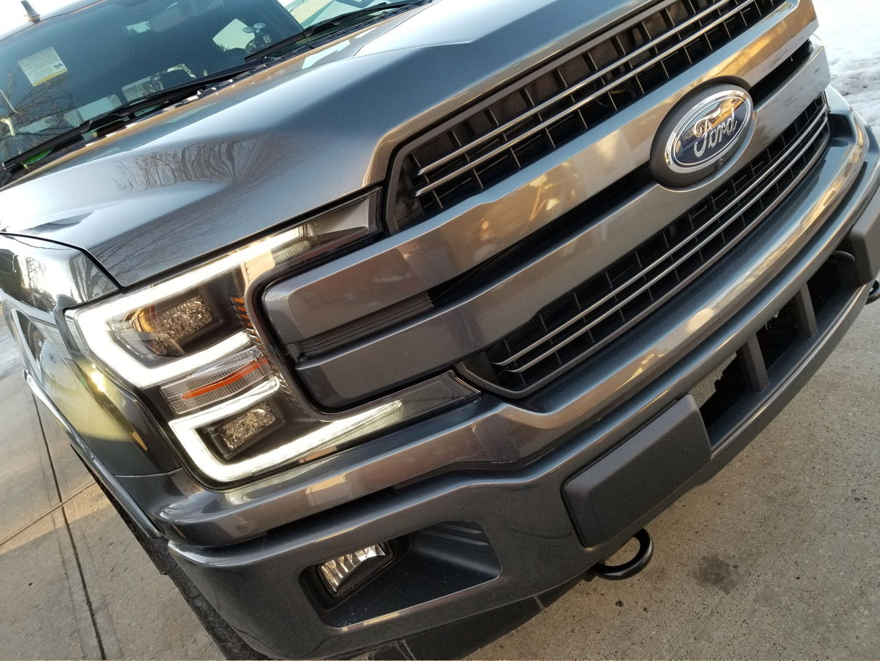 Ford F150 Headlights >> Here is my New 2018 F150 Lariat with Special Edition Headlights (lots of pics) - Ford F150 Forum ...