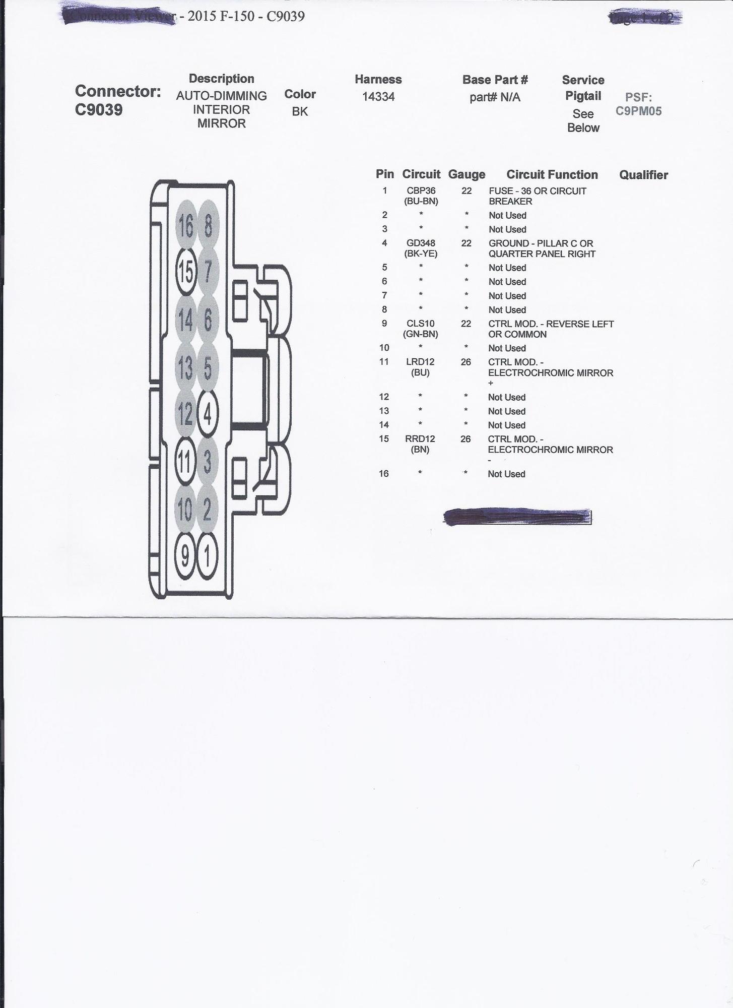 radar detector power from mirror - ford f150 forum