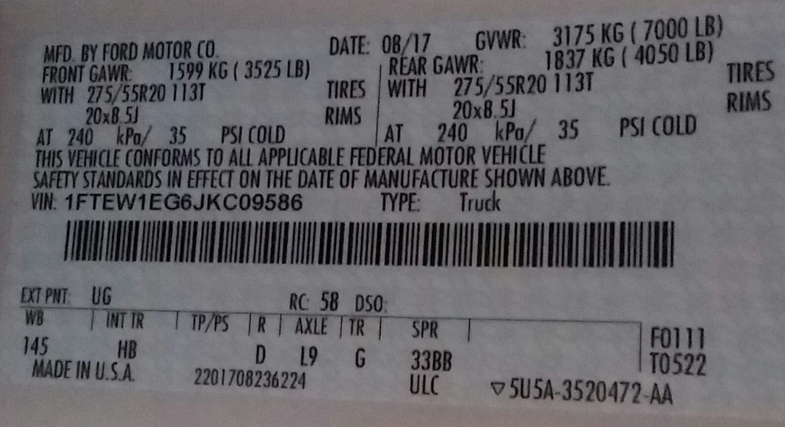 Packages without Window stickers for used F150s - Page 2 - Ford F150