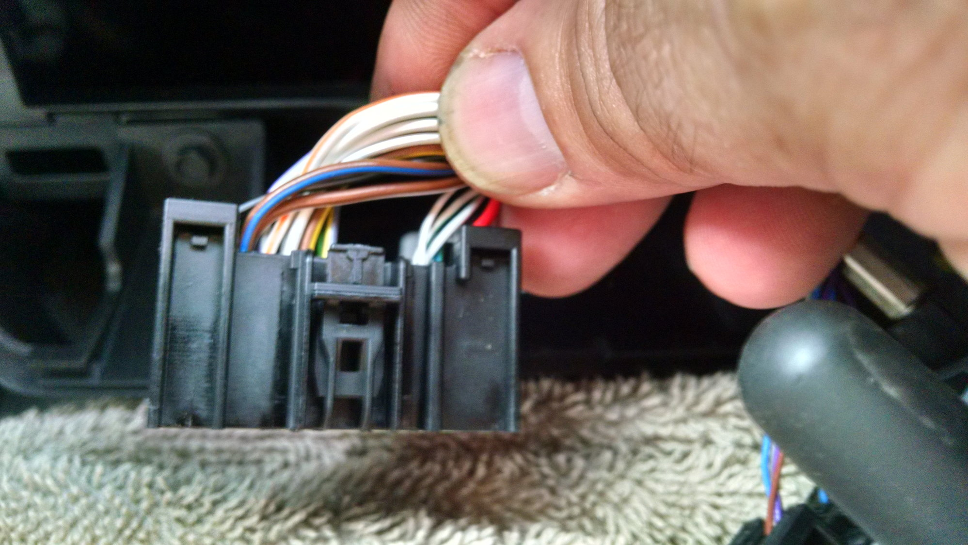 Ford Car Stereo Iso Wiring Harness Connector Adapter Ebay