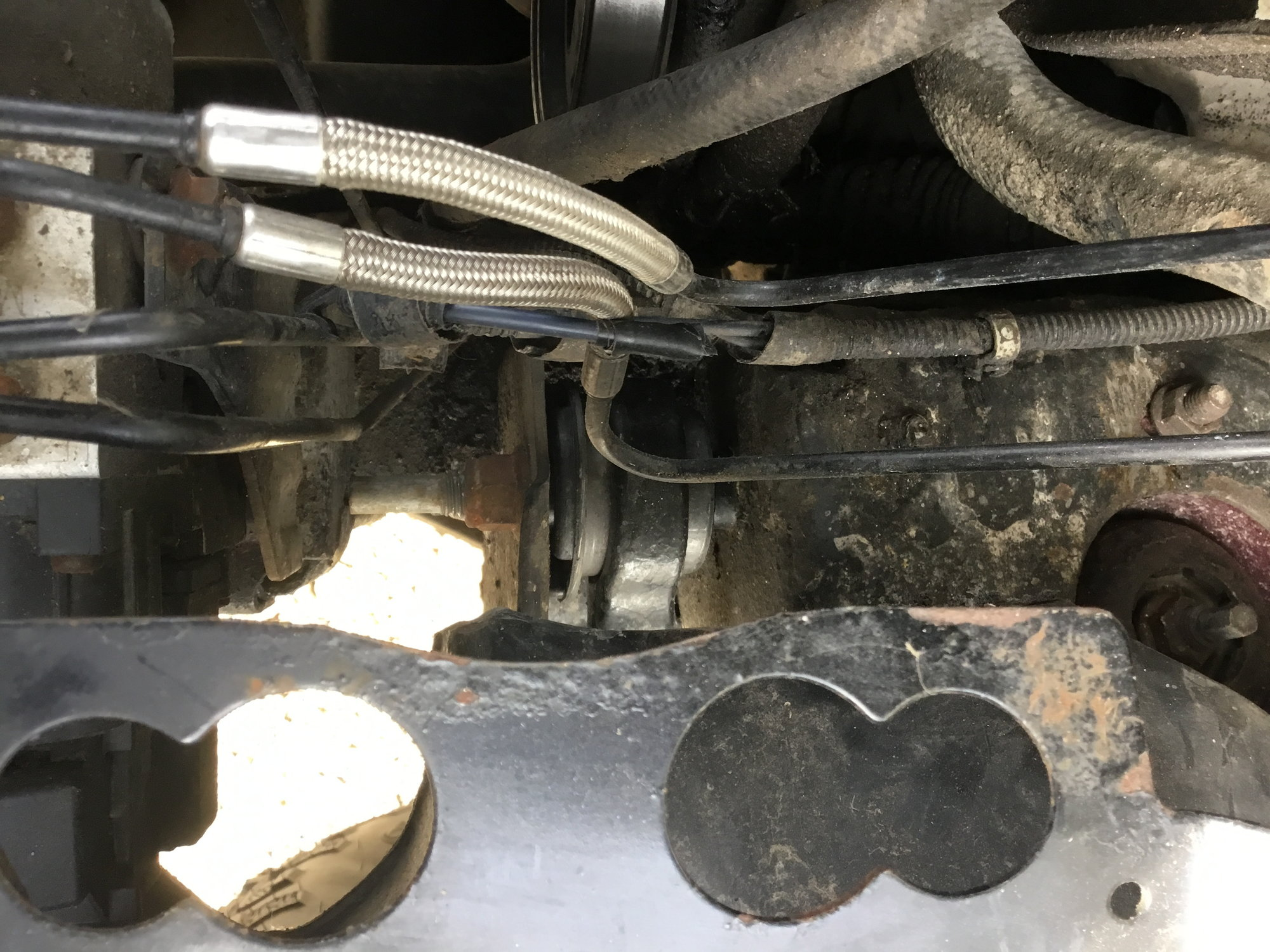 Loud clunking noise in front end w/4wd engaged - Ford F150