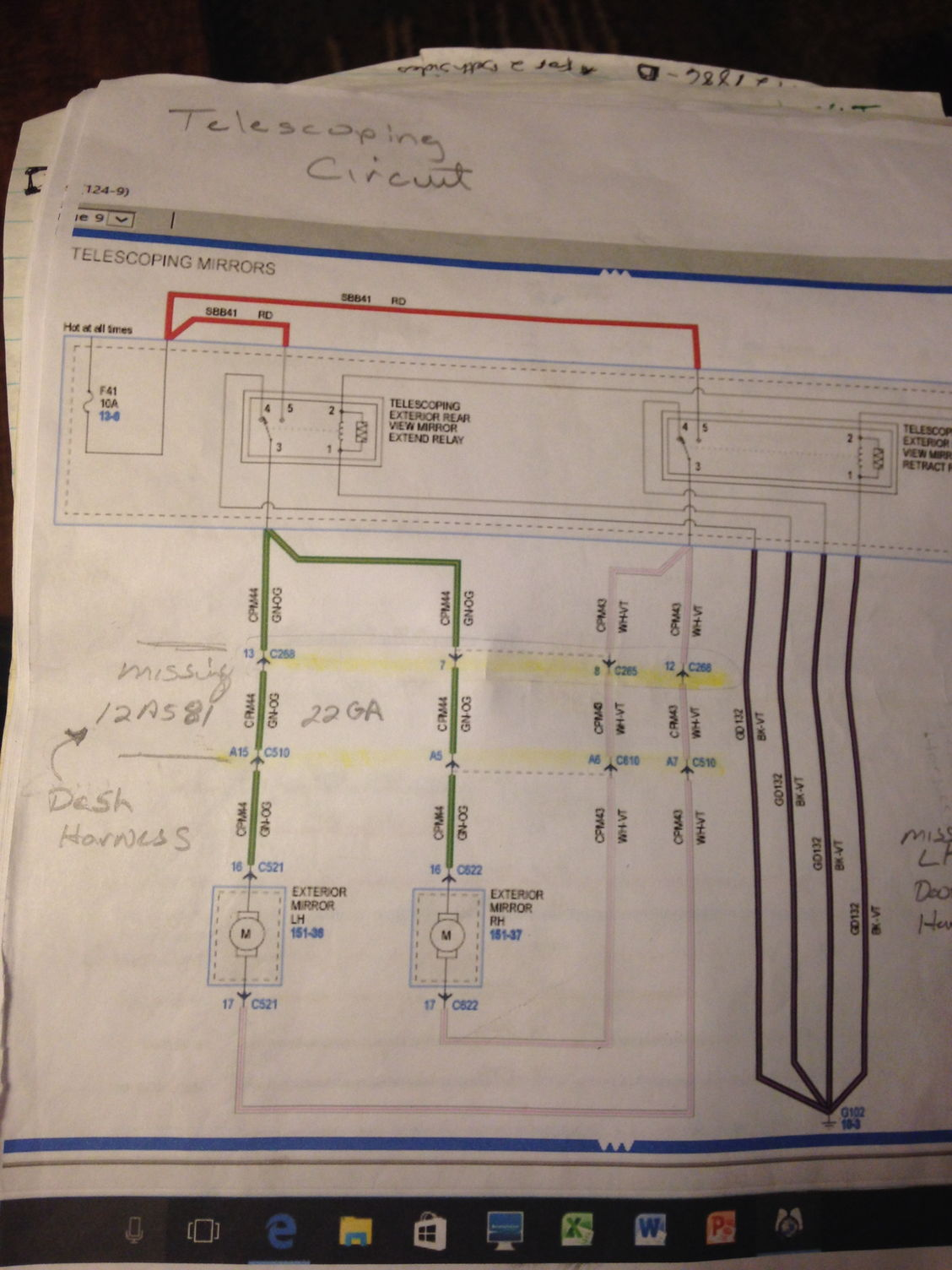 I Have The Wire Diagram For The 2015 F150 Model On The Xlt The Dash Harness