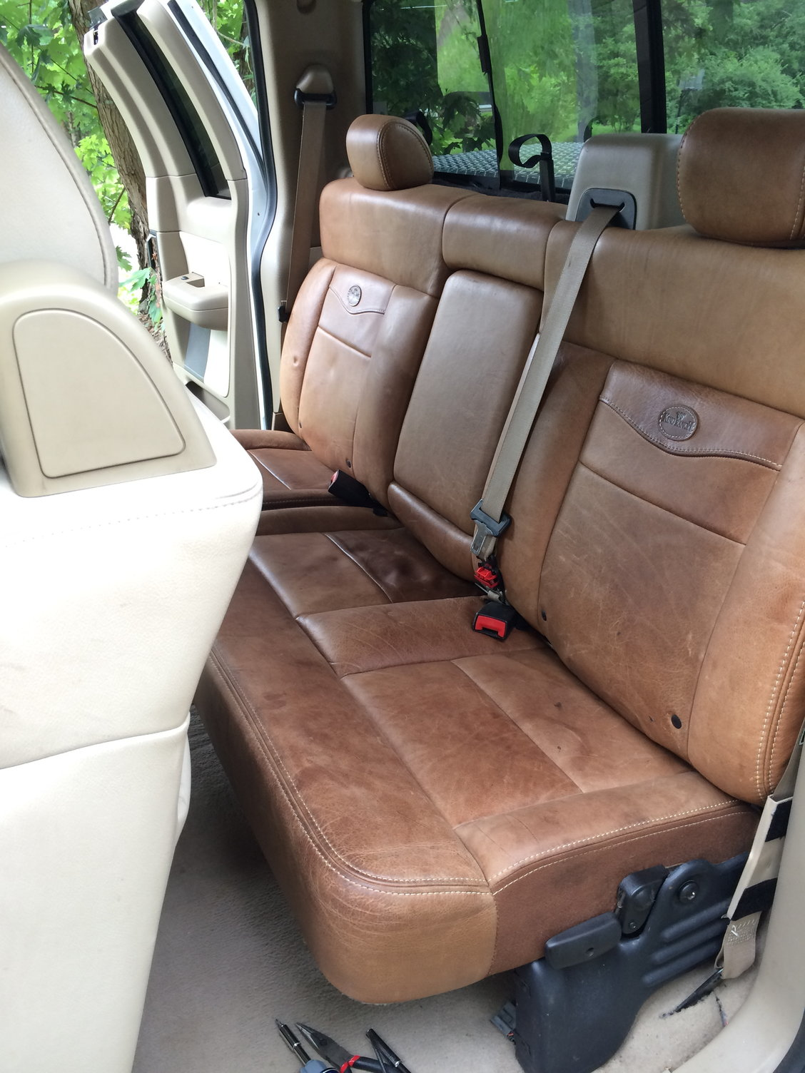 Custom King Ranch Interior In An Extended Cab Ford F150 Forum Community Of Ford Truck Fans