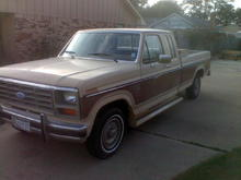 Just my old truck
