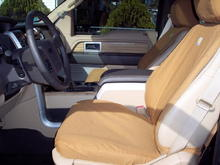 Interior Image  Carhartt Seat covers for front