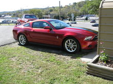 2011 Mustang. 'Little Red'.