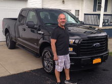 Proud owner of a Ford F150! This was the day I brought her home 9/2015