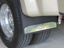 Ford factory parts mud flaps.