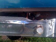 The bent bumper