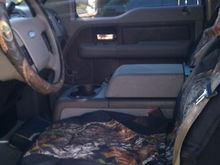 Mossy Oak seat cover really are saving my seats lol