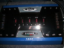 2000 watt RMS 1ohm Boss Blade 3500 mono block and all the extras like a fan, subsonic filter, and all the levels. price 199$ all tax free.