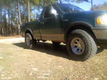 with ne rims and tires and no lift