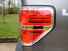 Painted Edge Tail Light