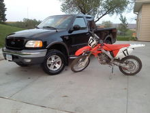 f150 and the 250r