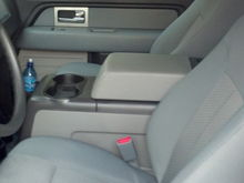 2008 center console in my 2011 F150 XL in place of jump seat