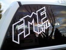 fmf sticker