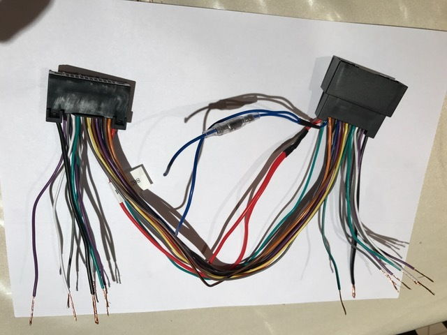 dual car, on ford f150 stereo wiring harness