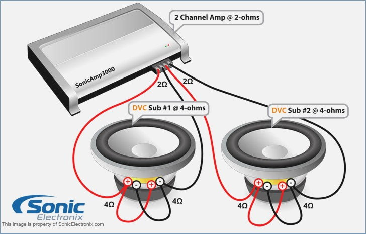 Mono Amp 1 Ohm Sub Wiring Diagram