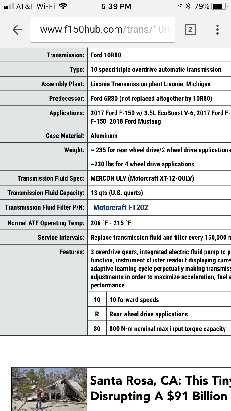 10 speed transmission, Any Know problems? - Page 12 - Ford