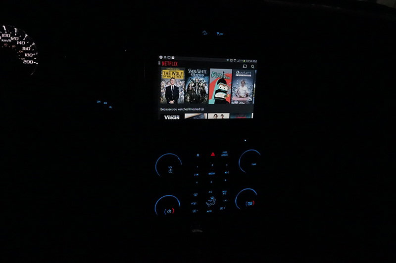 Successfully mirroring Android onto My Ford Touch 8
